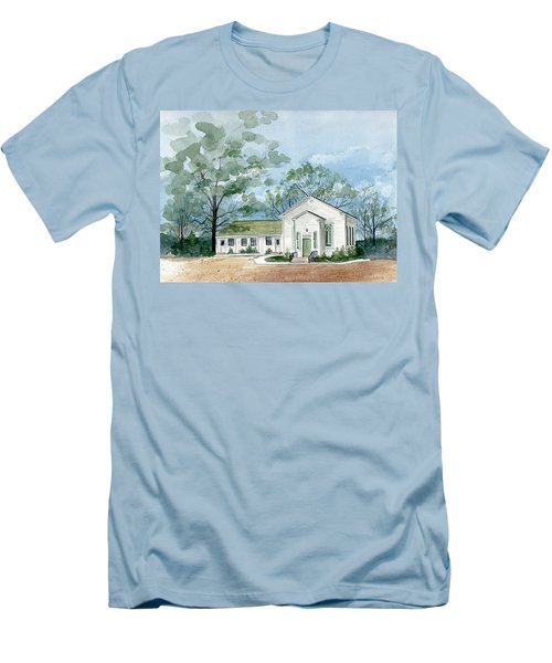 Sicklerville 1859 Church  Men's T-Shirt (Athletic Fit)