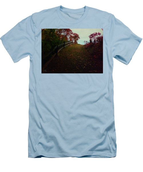 Siena In The Fall Men's T-Shirt (Athletic Fit)