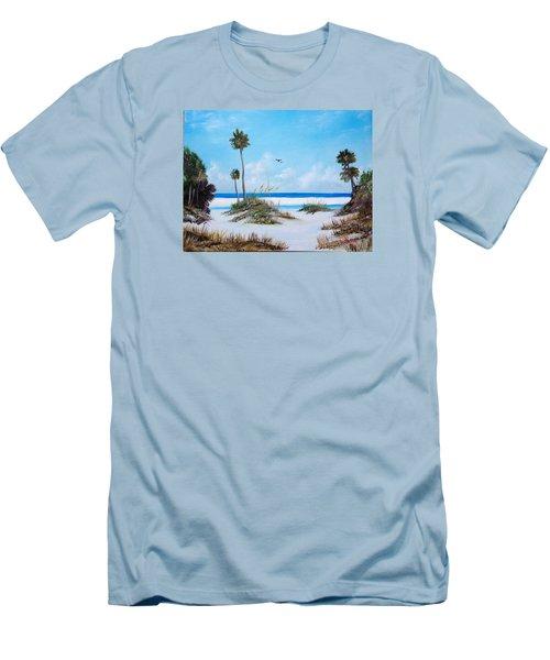 Siesta Key Fun Men's T-Shirt (Athletic Fit)