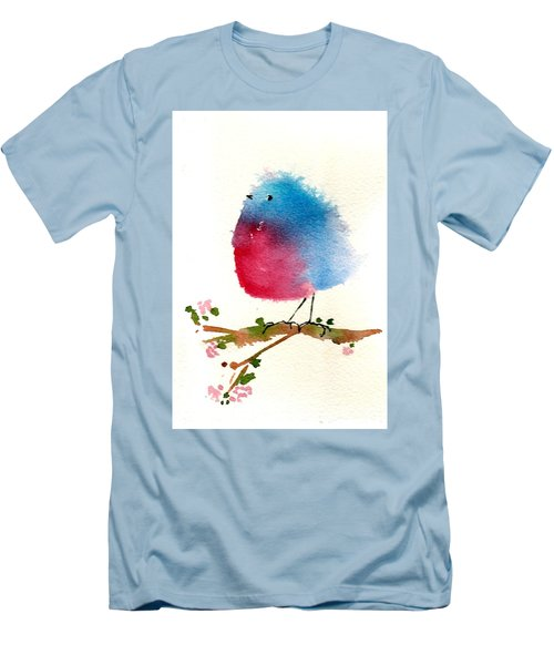 Silly Bird #1 Men's T-Shirt (Athletic Fit)