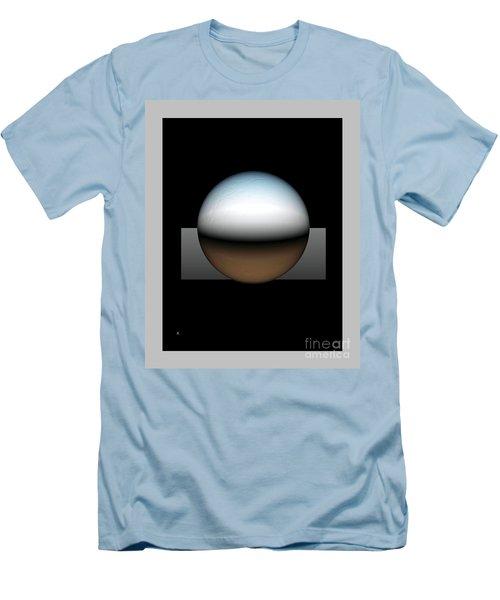 Simplicity 25 Men's T-Shirt (Slim Fit) by John Krakora