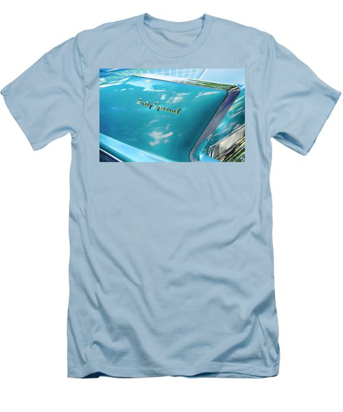 Men's T-Shirt (Slim Fit) featuring the photograph Sixty Special Cadillac by Theresa Tahara