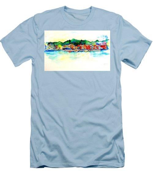 Skaneatelels Ny Men's T-Shirt (Athletic Fit)