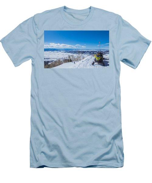 Ski Patrol Men's T-Shirt (Slim Fit) by Sean Allen
