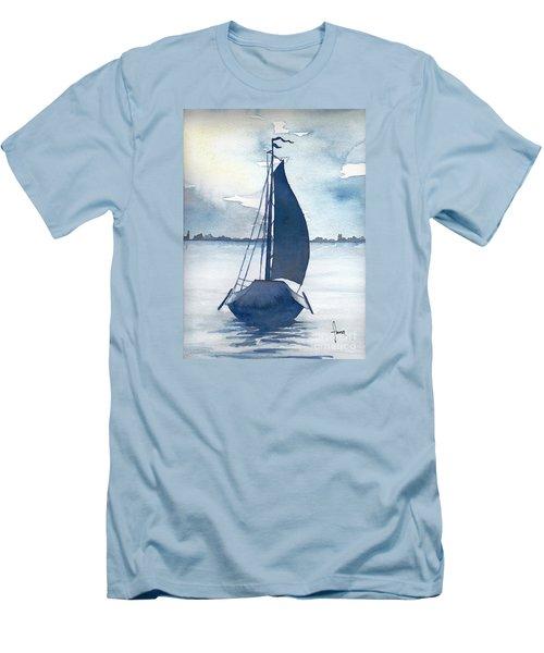 Skutsje No.2 Men's T-Shirt (Athletic Fit)