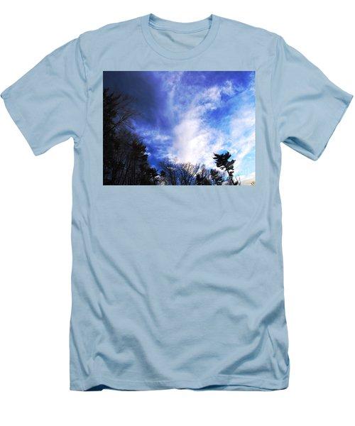 Sky Study 4 3/11/16 Men's T-Shirt (Slim Fit) by Melissa Stoudt