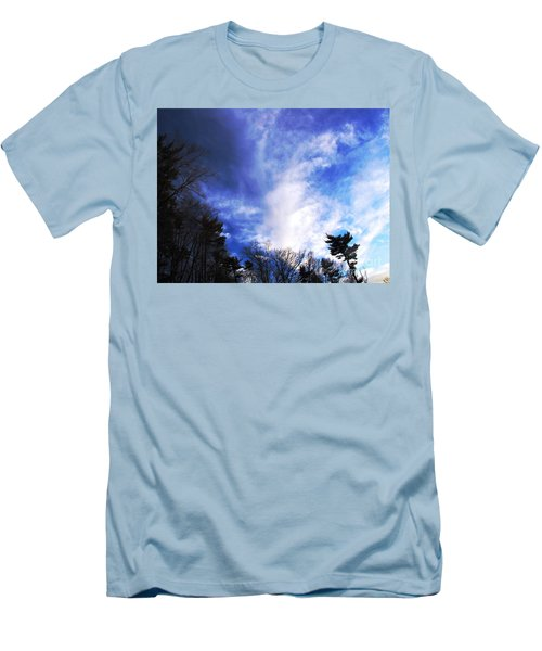 Sky Study 4 3/11/16 Men's T-Shirt (Athletic Fit)