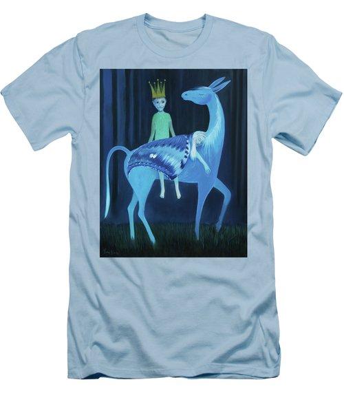 Sliten Nattsvermer Men's T-Shirt (Athletic Fit)