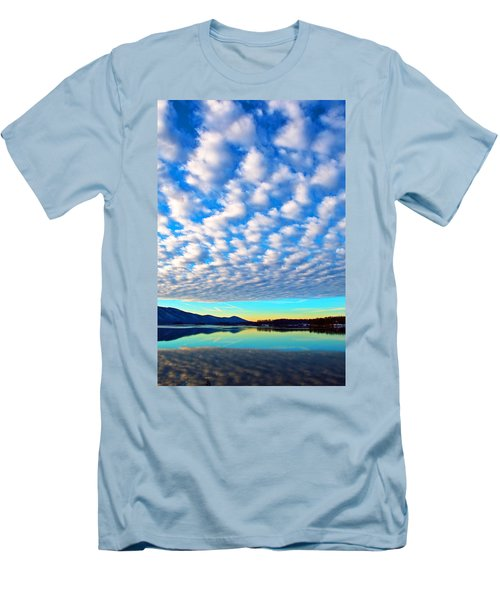 Sml Sunrise Men's T-Shirt (Slim Fit) by The American Shutterbug Society