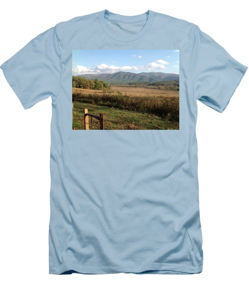 Smokies 1 Men's T-Shirt (Slim Fit) by Val Oconnor