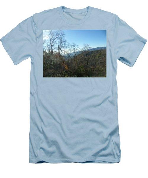 Smokies 15 Men's T-Shirt (Slim Fit) by Val Oconnor