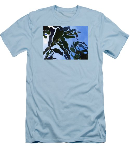 Smooth Bamboos Men's T-Shirt (Slim Fit) by Tina M Wenger