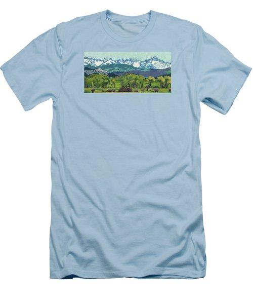 Sneffels Range Spring Men's T-Shirt (Athletic Fit)
