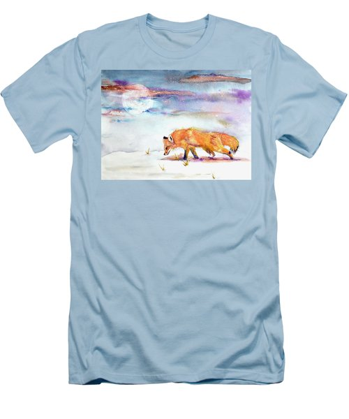 Sniffing Out Some Magic Men's T-Shirt (Slim Fit) by Beverley Harper Tinsley