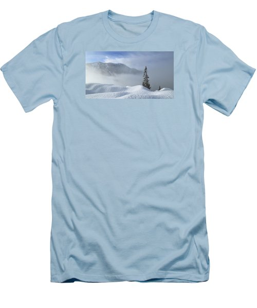 Snow And Silence Men's T-Shirt (Athletic Fit)