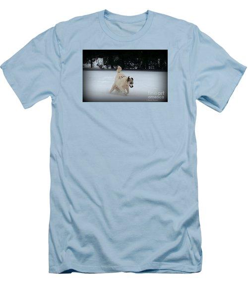 Snow Babies Men's T-Shirt (Athletic Fit)