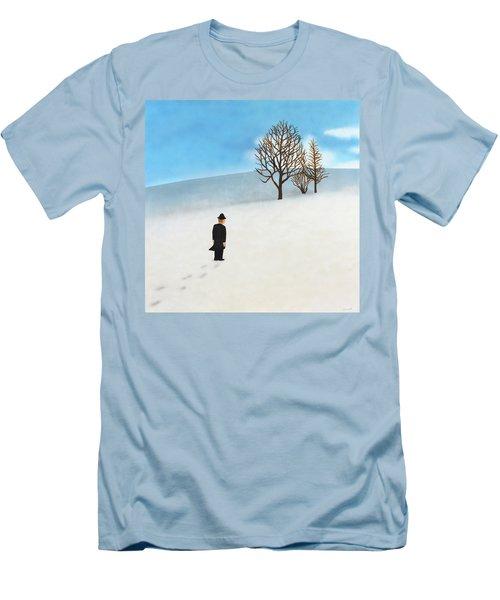Snow Day Men's T-Shirt (Slim Fit)