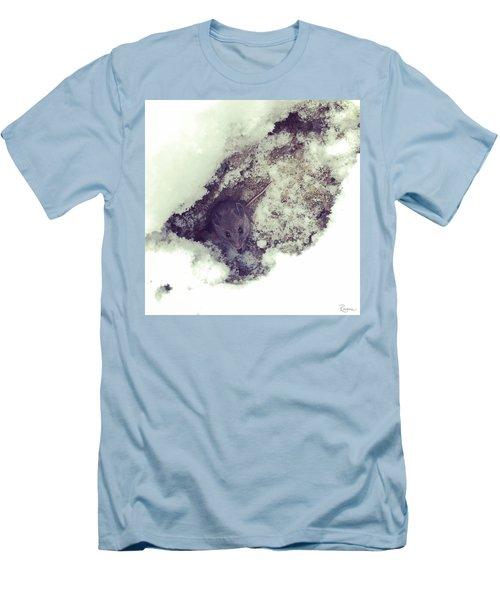 Snow Mouse Men's T-Shirt (Athletic Fit)