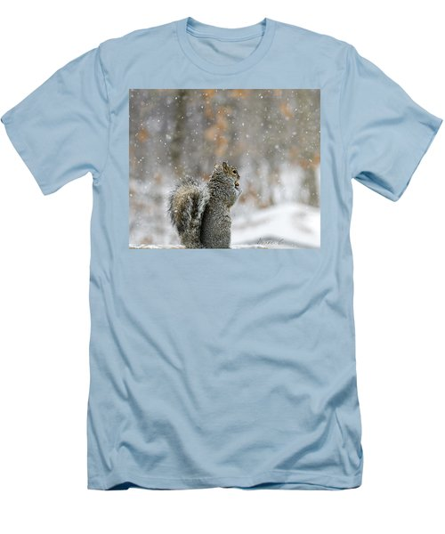 Snow Squirrel Men's T-Shirt (Athletic Fit)