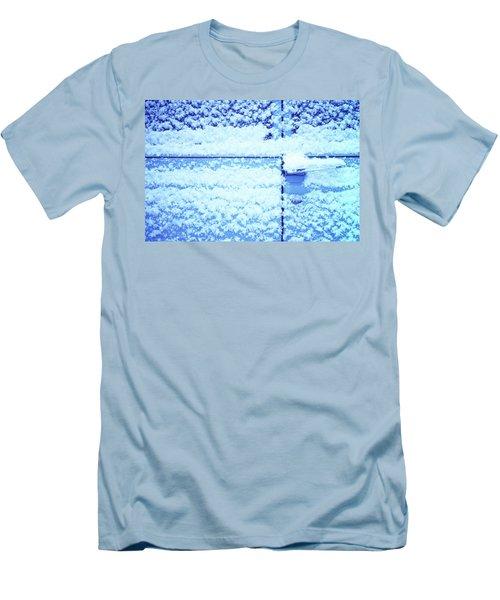 Snow Van 51 Chevy Panel Men's T-Shirt (Slim Fit) by Laurie Stewart