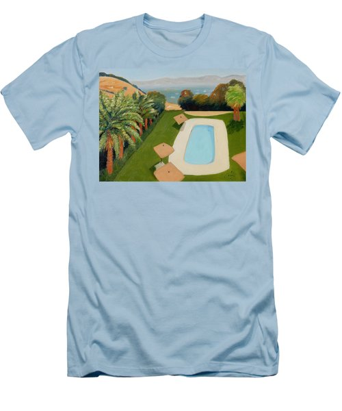 Men's T-Shirt (Slim Fit) featuring the painting So Very California by Gary Coleman