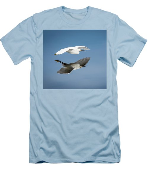 Soaring Over Still Waters Men's T-Shirt (Athletic Fit)