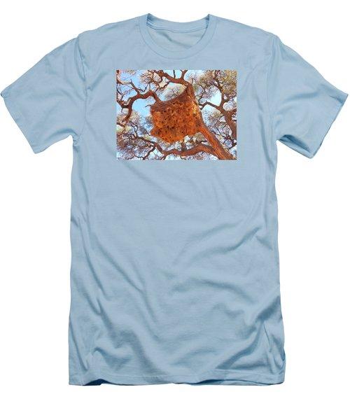 Social Weaver Nest Men's T-Shirt (Athletic Fit)