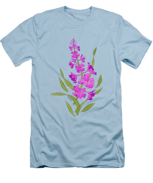 Solo Fireweed Shirt Image Men's T-Shirt (Slim Fit) by Teresa Ascone