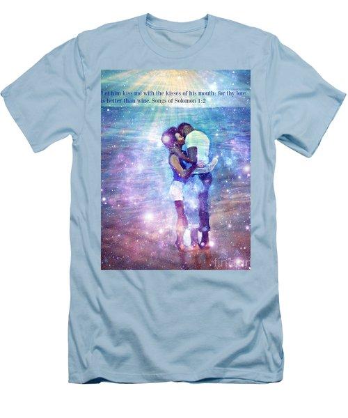 Songs Of Solomon Men's T-Shirt (Slim Fit) by Vannetta Ferguson