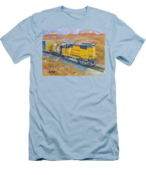South West Union Pacific Men's T-Shirt (Slim Fit) by William Reed