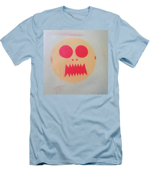 Men's T-Shirt (Slim Fit) featuring the photograph Space Alien by Art Block Collections