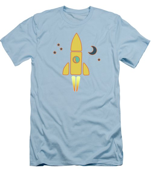 Spaceship Men's T-Shirt (Athletic Fit)