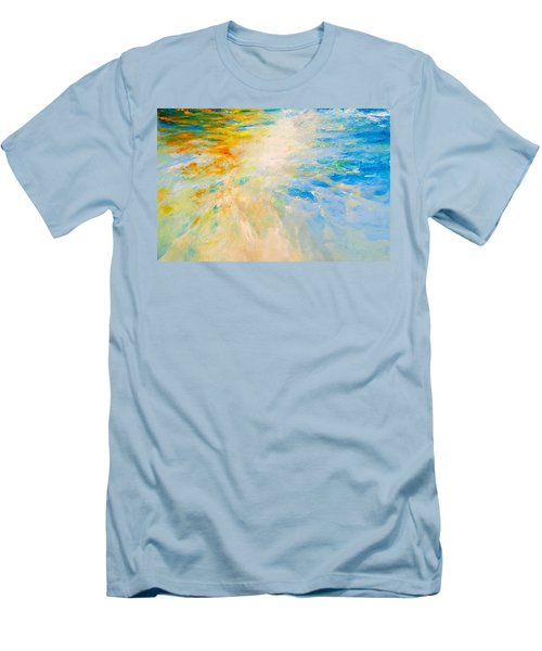Sparkle And Flow Men's T-Shirt (Slim Fit) by Dina Dargo