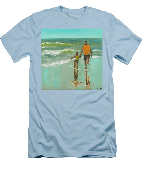 Splash Men's T-Shirt (Athletic Fit)