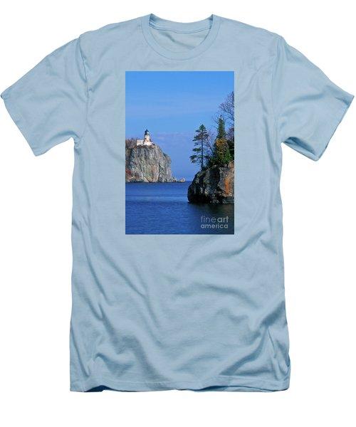 Split Rock Lighthouse - Fs000120 Men's T-Shirt (Athletic Fit)