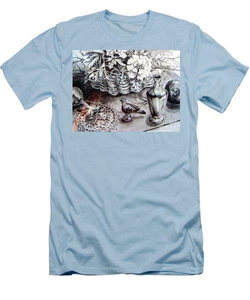 Spring Arrangemnt Men's T-Shirt (Slim Fit)