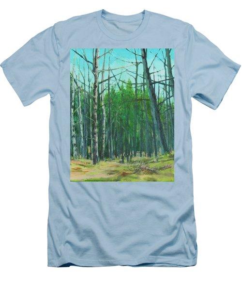 Spring Aspens Men's T-Shirt (Athletic Fit)
