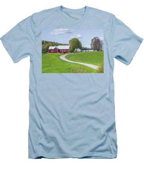Spring Farm Men's T-Shirt (Slim Fit) by Tim Kirchoff