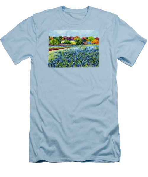 Spring Impressions Men's T-Shirt (Slim Fit) by Hailey E Herrera