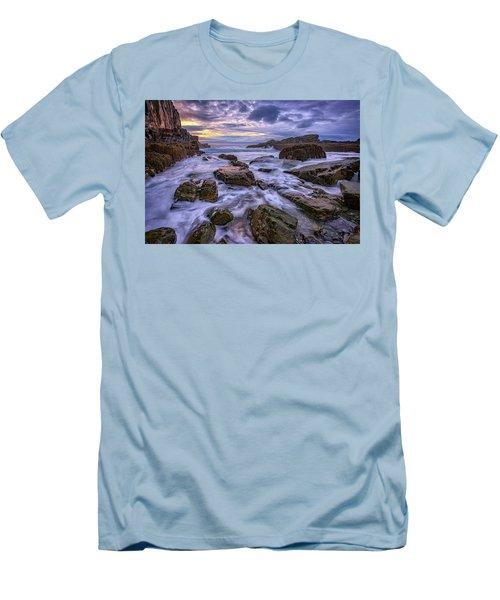 Spring Morn At Bald Head Cliff Men's T-Shirt (Slim Fit) by Rick Berk