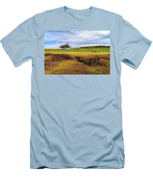 Spring On North Table Mountain Men's T-Shirt (Slim Fit) by James Eddy