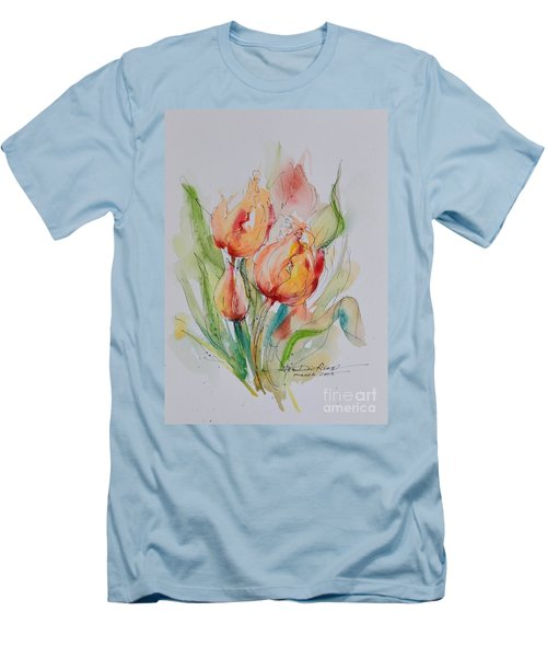 Spring Smiles Men's T-Shirt (Athletic Fit)