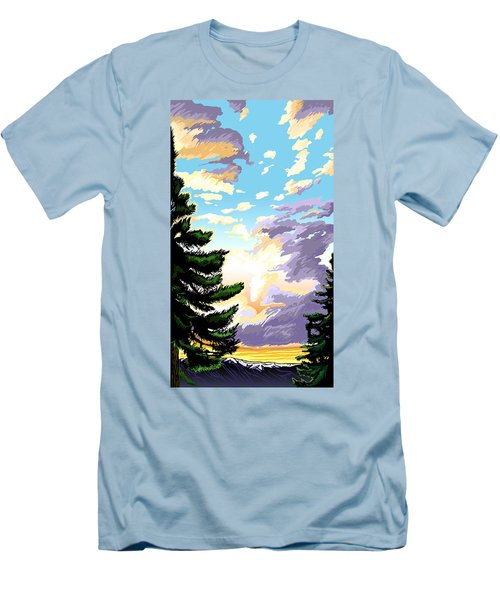 Spring Sunrise 01 Men's T-Shirt (Athletic Fit)