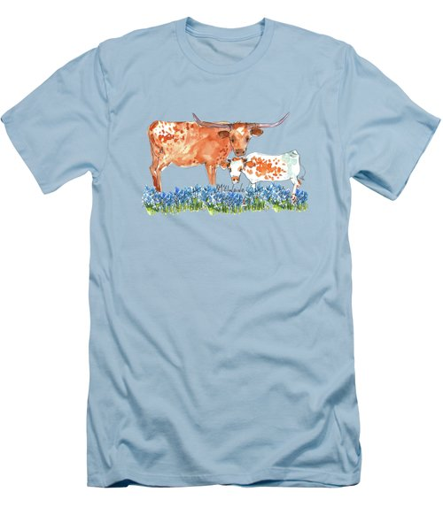 Springs Surprise Watercolor Painting By Kmcelwaine Men's T-Shirt (Athletic Fit)