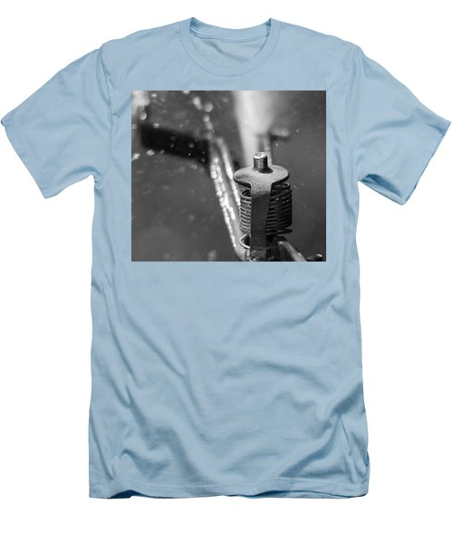 Men's T-Shirt (Slim Fit) featuring the photograph Sprinkler by Wade Brooks