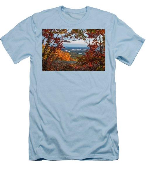 Squam Lake Autumn Views Men's T-Shirt (Athletic Fit)