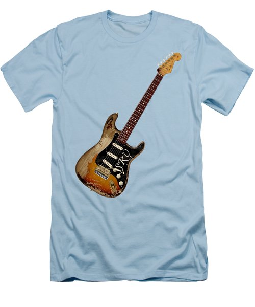 Srv Number One Men's T-Shirt (Slim Fit) by WB Johnston