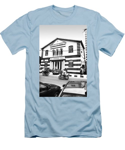 St. Georges Hall, Broad Street Men's T-Shirt (Athletic Fit)