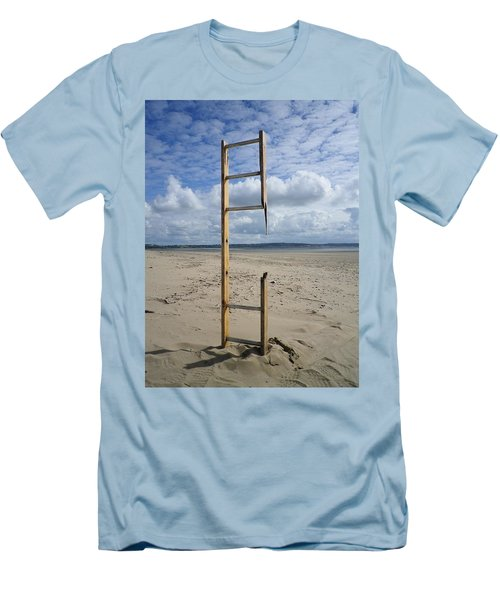 Stairway To Heaven Men's T-Shirt (Slim Fit) by Richard Brookes