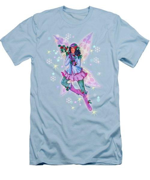 Starr Lynn Holliday Fairy Men's T-Shirt (Slim Fit) by Teresa Ascone